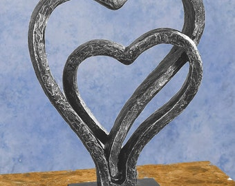 "Love Our Heart 14"" Sculpture Statue  Neo-mfg"