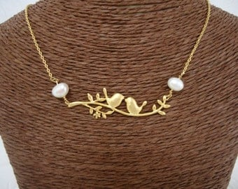 "Necklace ""Birds"""