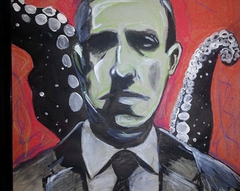 a mind of madness H.p. lovecraft portrait