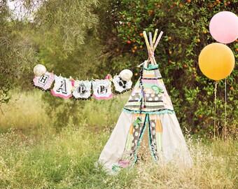 TEEPEE BIRTHDAY PARTY, childrens teepee, teepee tent, kids tent, playhouse, play teepee, kids teepee tent, kids play tent