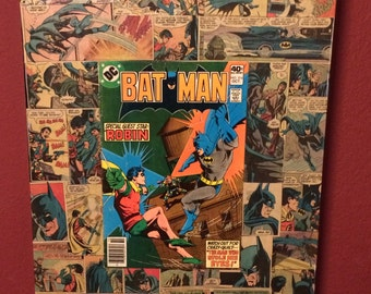 Vintage Comic Book Art Decor