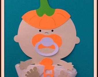 Fall Baby Shower Baby Pumpkin Baby Shower Napkins Baby Shower Decor Baby Shower Favor