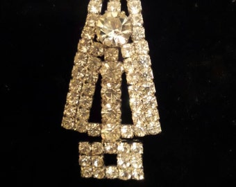 Rhinestone Applique | Vintage Jewelry for Re-purposing