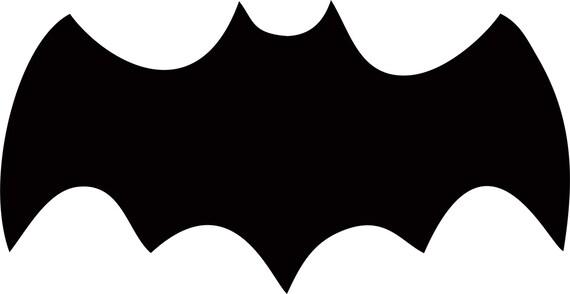 Items similar to Batman 1966 Logo -Vinyl Decal Sticker ...  Items similar t...