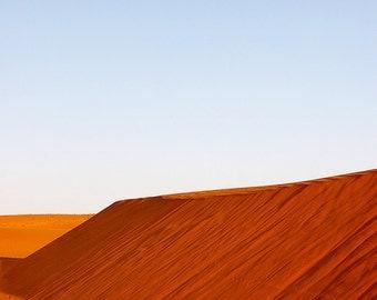 20% SALE Moonrise, Thar desert, India, travel photography, nature, landscape, minimalist, wall art, home decor, 8x10