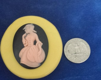 Victorian lady mold