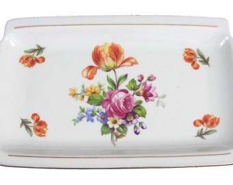 Vintage Bone China Tray