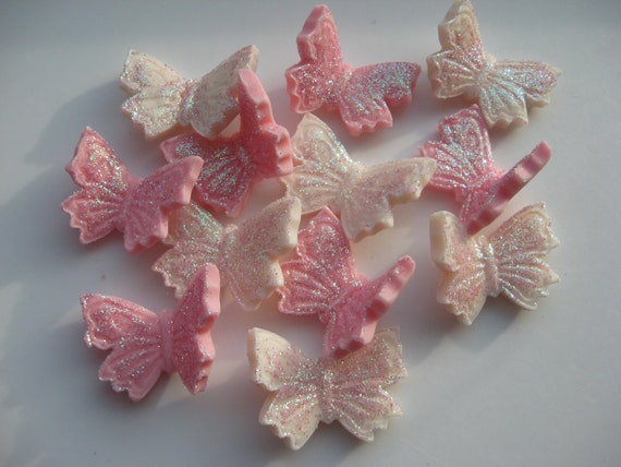 Sucre comestible cerise papillon d corations pour g teaux de - Decoration gateau papillon ...