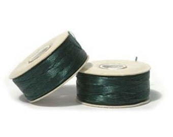 NYMO Beading Thread - Size D - Evergreen