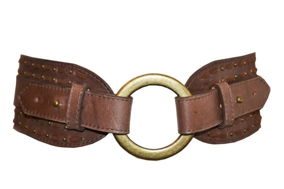 s leather belt brown distressed leather belt with