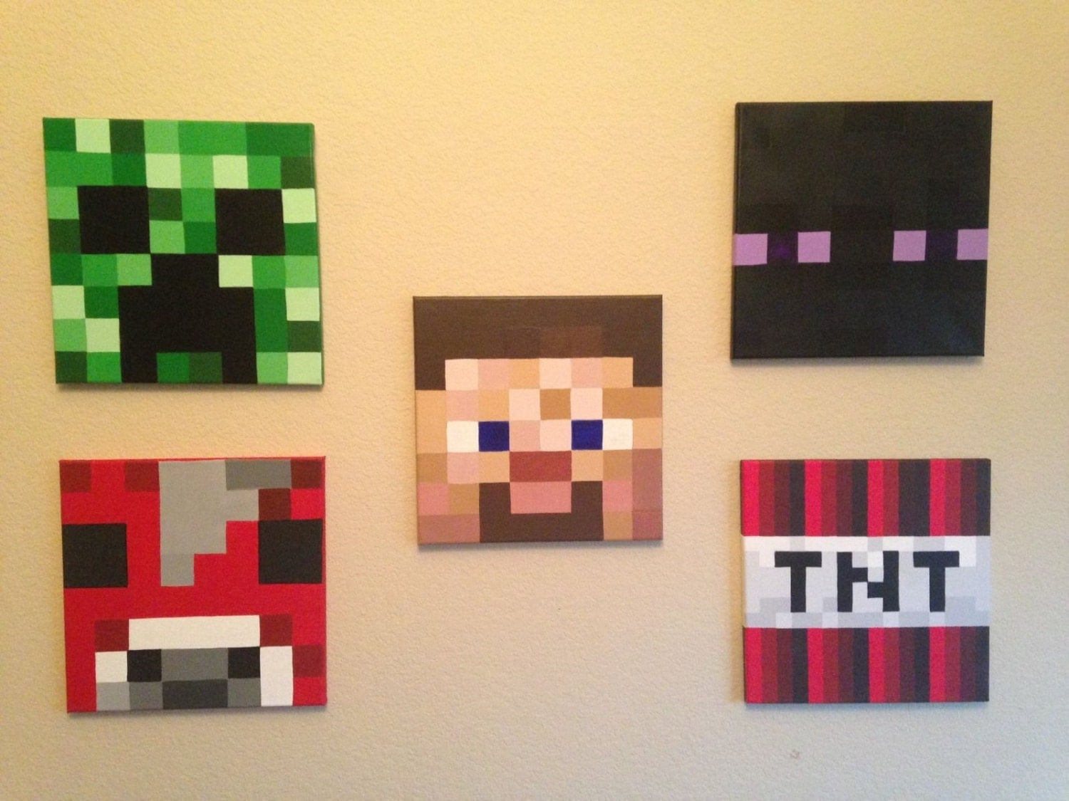 Minecraft Bedroom In Real Life Minecraft Paintings In Real Life Janefargo