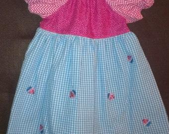 18 month Peasant Dress