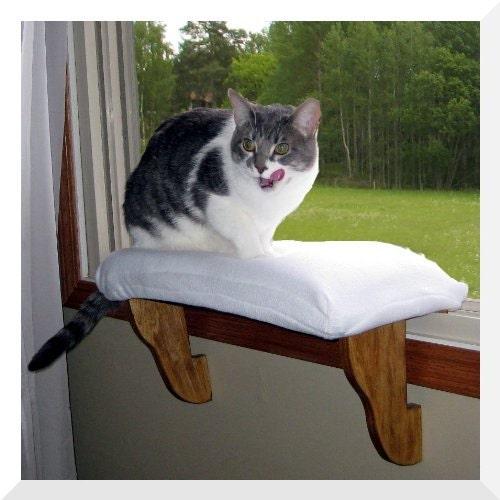 cat window perch zero installation clips in windws by komfykat. Black Bedroom Furniture Sets. Home Design Ideas