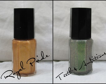 The Pridelands - Labracadabra Green & Gold Nail Polish Set