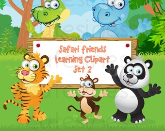 zoo digital clipart zoo clipart safari clipart jungle animal clipart ...