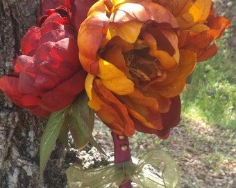 Popular items for hand tied bouquets on etsy for Fall wedding bouquets for sale