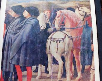 art book vintage - master of Italian painting - oil paintings on canvas - MASACCIO Italian painter of 1400