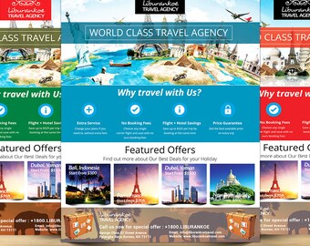 Vacation Travel Agency Promotion Flyer