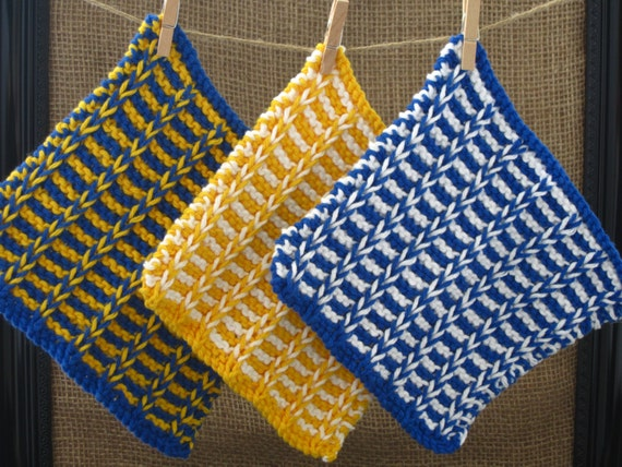 comment tricoter linge de table