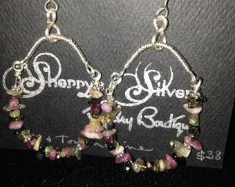 Funky Chandelier Earrings