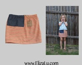 4th of July Flag Toddler Skirt, Memorial Day, Military, Patriotic