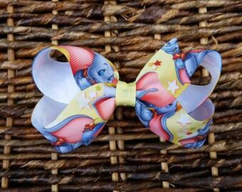 Simple Dumbo Hair Bow - Dumbo Hair Bow - Dumbo Bow - Small Dumbo Bow - Elephant hair bow - Small elephant hair bow - Cute elephant bow