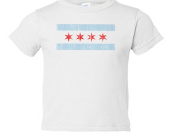Chicago Flag Toddler Tee