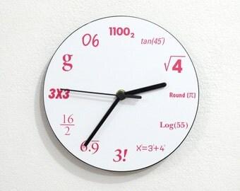 Mathematics - Wall Clock