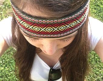 Boho Tribal Print Headband