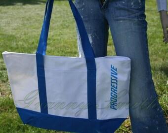 Progressive Insurance TRICK-or-TREAT- bag. Candy bag.  Halloween costume prop! A fun FLO accessory