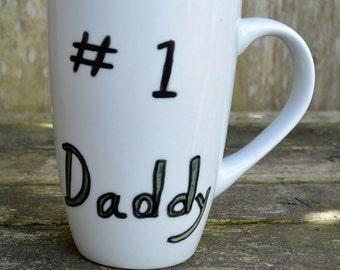 Number 1 Daddy Gift Mug