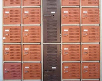 Old School Mixed Vintage Lockers
