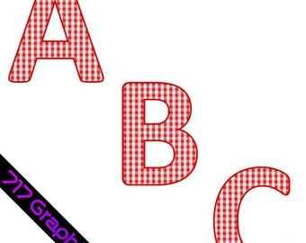 Picnic Alphabet Clipart