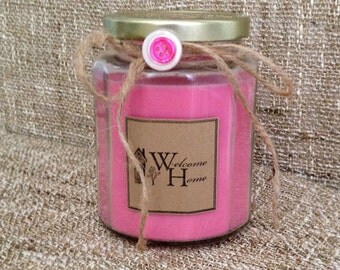 Tickled Pink Soy Candle