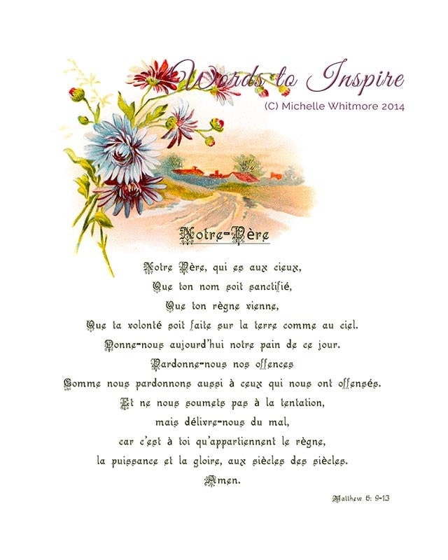 It's just an image of Gargantuan The Lord's Prayer Printable Pdf