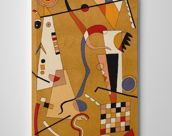 Airplane by Kandinsky Gallery Wrapped Canvas Wall Art