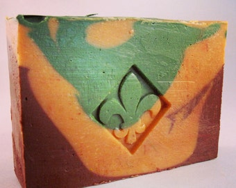Orange Grove - Handcrafted soap made with avocado oil and other all-natural ingredients from South Compton Soap Company