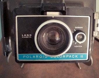 Polaroid camera 1970s vintage