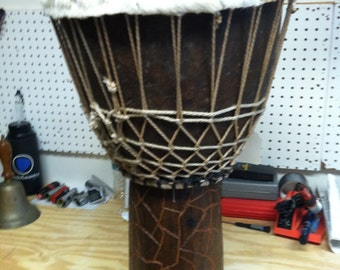 African Style Djembe - The Real Thing! Hand Drum, World Music