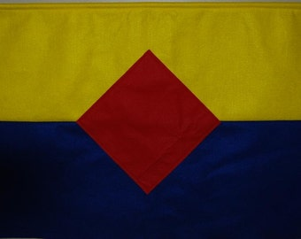 how to make a cub scout pack flag