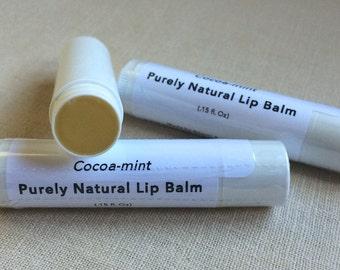 Lip Balm - Cocoa Mint (Organic)
