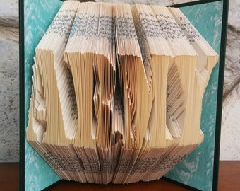 ARMY - Folded Book Art - Fully Customizable, Military, Soldier