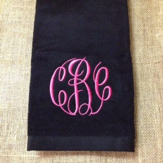 CLOSEOUT SALE Monogrammed Golf Towel, Personalized Golf Accessories, Graduation Gifts, Bachelor Weekend Favors, Golf Trip Favors