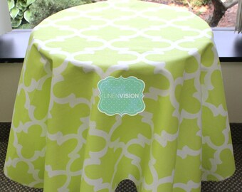 Tablecloth - Premier Prints - FYNN - Canal Green - Choose Your Size - Table Linen Wedding Home Decor Dining Kitchen