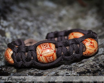 Cathus Beaded Cobra Paracord Bracelet