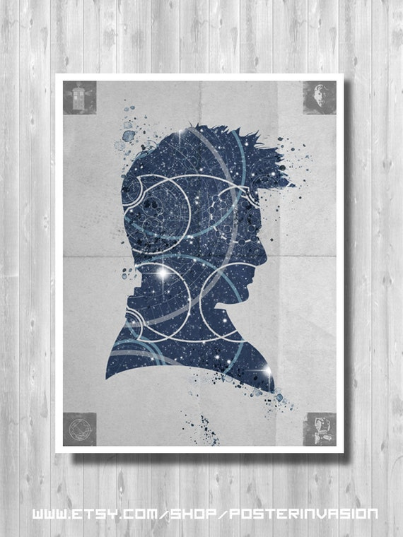 Doctor Who Poster Minimalist Poster Home Decor Poster Tv