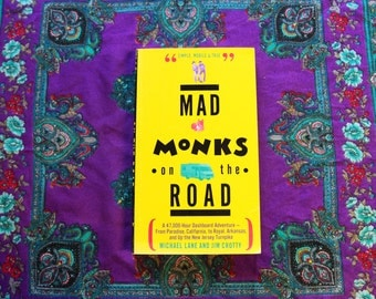 Vintage Book - 1993 Mad Monks on the Road Michael Lane Jim Crotty