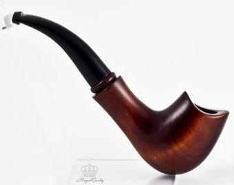 "Handmade Tobacco smoking pipe - 6.1"" (15,5cm) made of pear. Smoking pipes!"