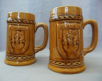 Vintage Ceramic Steins