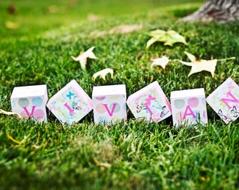 Personalized Custom Baby Blocks